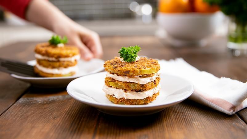 Fried Green Tomatoes Gluten Free Recipe Schar